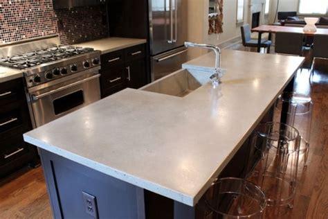 Kitchen Countertops Concrete by Kitchen Countertops Concrete Fascinating Stained Concrete