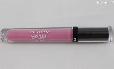 Lipstik Revlon Review lainamarie91 revlon colorstay ultimate liquid lipstick 006 ultimate orchid review