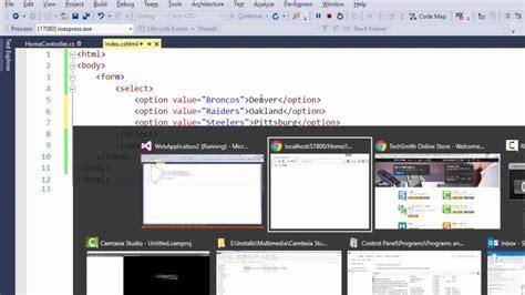 html select option values