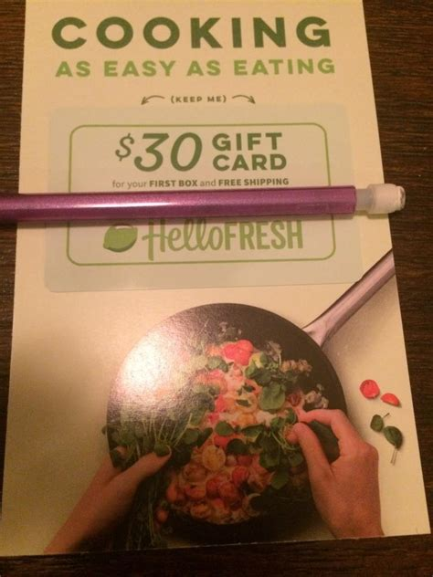 Hello Fresh Gift Card Coupon - coinsen com buy 30 gift card first box and free shipping hello fresh no expiration