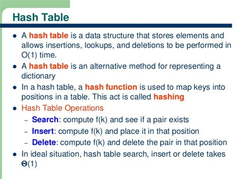 hash table double hashing hashing technique in data structures