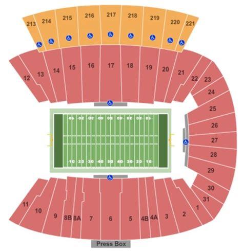 of stadium seating capacity dowdy ficklen stadium tickets in greenville carolina