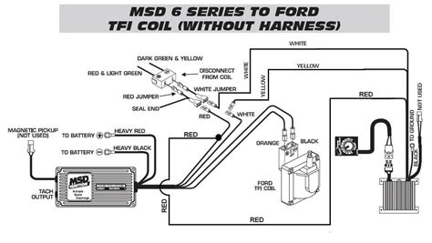 ford tfi to timing to 6420 wo harness msd