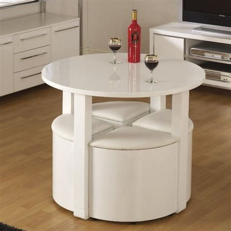 space saver kitchen table and chairs space saving dining table small breakfast room white high