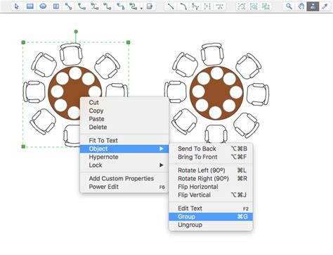 Free Wedding Floor Plan Template creating a seating chart conceptdraw helpdesk