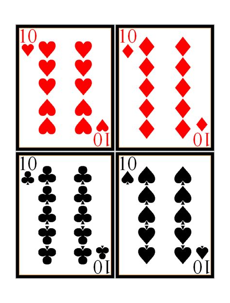 playing cards clip art cliparts co