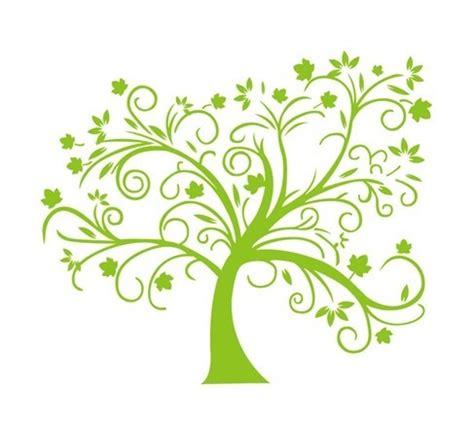 무료일러스트이미지 디자인소스 다운로드 나뭇잎 일러스트 나무 이미지 무료 벡터이미지 Green Tree Logos Vector Graphic 05 Vector Logo Free