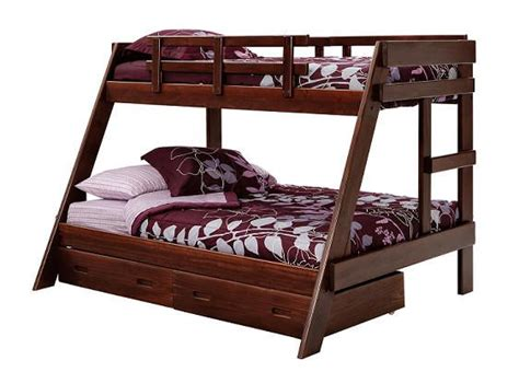 bunk bed queen on bottom bunk bed twin and full bunk beds on pinterest