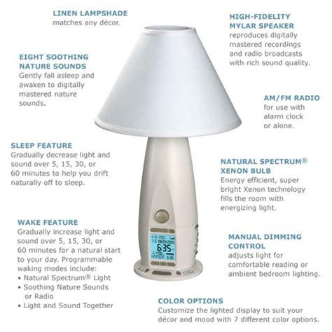 verilux rise  shine alarm clock lamp