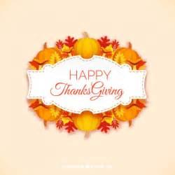 happy thanksgiving label vector premium