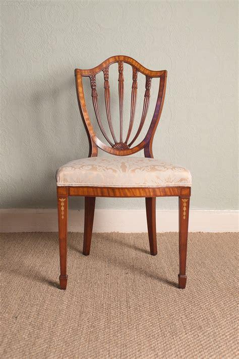 hepplewhite shield back chairs antiques atlas mahogany hepplewhite style shield back chair