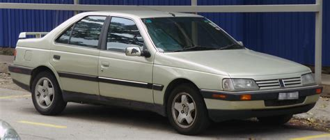 first peugeot file peugeot 405 first facelift front kuala lumpur