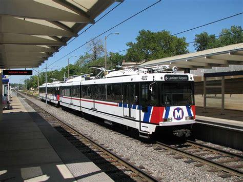 st louis light rail belleville st louis metrolink