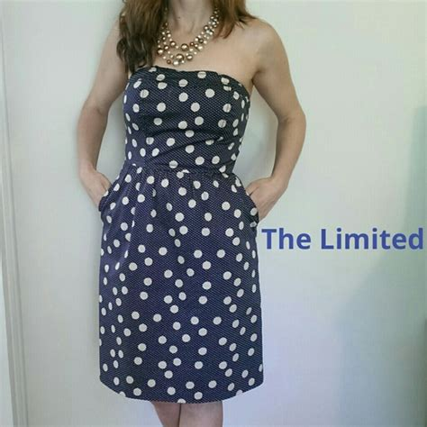 Setelan Polkadot Limited 56 the limited dresses skirts limited polka dot sweetheart dress w pockets from megan