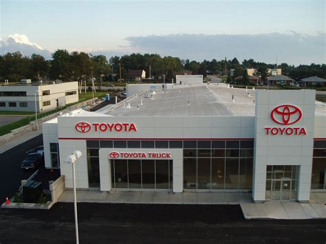 toyota dealership bay toyota opens dealership facility toyota canada