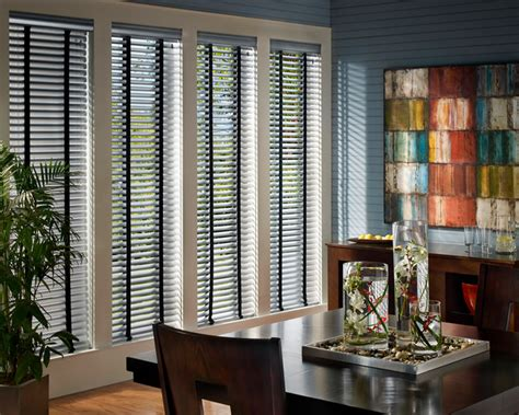 Dining Room Window Blinds by Douglas Macro Aluminum Blinds And Window Treatments