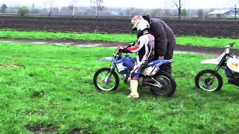 Kinder Motorrad 80ccm by Motocross Schnuppertraining Yamaha Pw50 Pw80 Ttr90