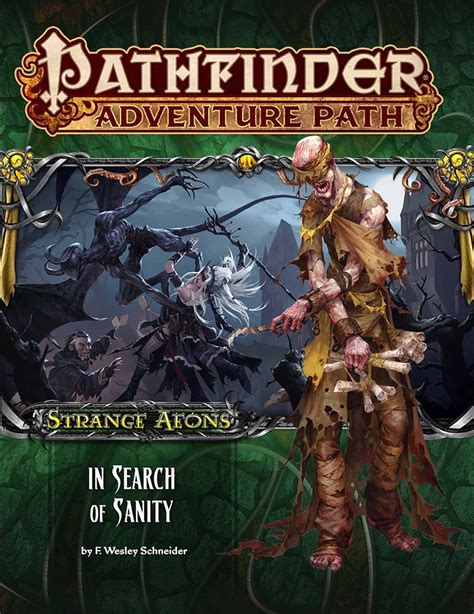 In Search Of Paizo Pathfinder Adventure Path 109 In Search Of Sanity Strange Aeons 1 Of 6