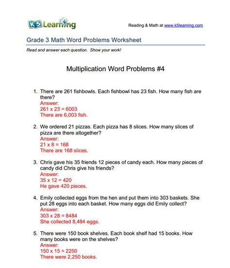 k5 learning worksheets answers k5 provides answers to math word problems worksheets