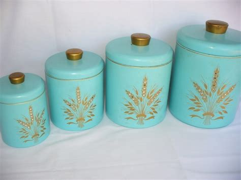 canisters extraordinary retro kitchen canisters vintage