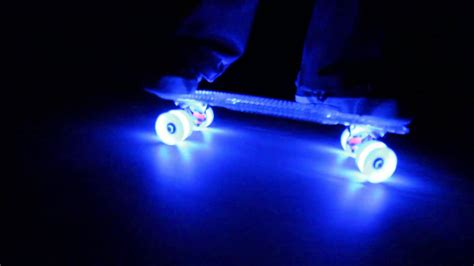 penny board light up wheels sunset skateboards with flare led wheels 24 7 fun youtube
