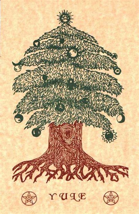 pagan christmas tree pagan yule yuletide