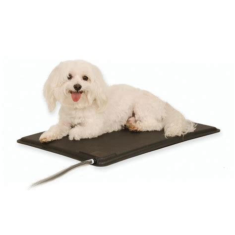 pads for puppies k h pet products original lectro kennel outdoor heated pad large black 22