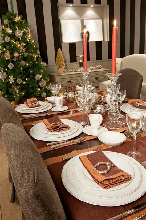 idee tavola natalizia tavola natalizia raffinata ed elegante