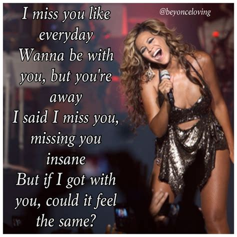 lyrica and beyonce beyonce song lyric quotes quotesgram