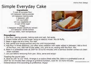 Toaster Oven Cake Simple Everyday Cake Kusinera Davao