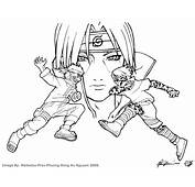 Naruto 71 Cartoons – Printable Coloring Pages