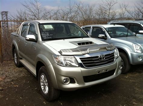 Toyota Up Hilux 2012 Toyota Hilux Up Photos 3 0 Diesel Automatic