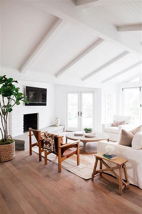 Living Rooms With Vaulted Ceilings House Vaulted Ceilings Almost Makes