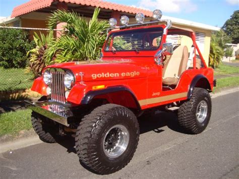Jeep Cj5 Vs Cj7 1975 Jeep Cj5 Chevy 350 V8 Th400 35x12 50r15 Wrangler Yj