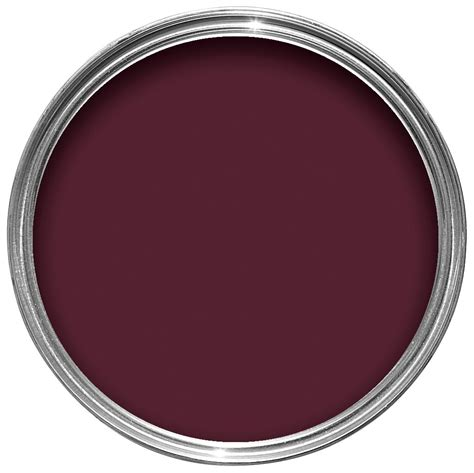 B Q Kitchen Cabinets Dulux Mulberry Burst Matt Emulsion Paint 1 25l