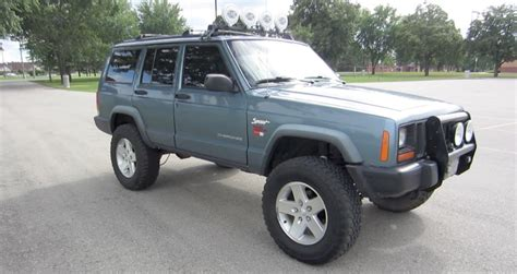 hella bull l 1997 jeep cherokee xj overview 4 5 quot rough country youtube