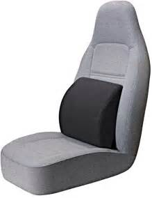 Seat And Back Cushion Portable Lumbar Seat Cushion Black Automotive