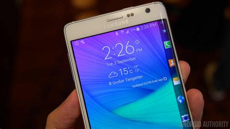 note 8 edge lighting galaxy note edge hands on
