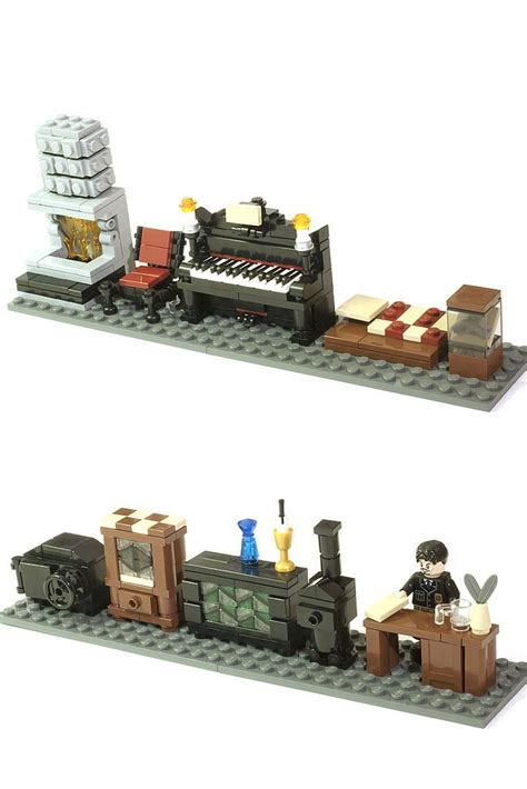 lego furniture 17 best images about lego minifig furniture on typewriters lego and living room sets