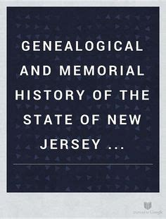 genealogical and memorial history of the state of new
