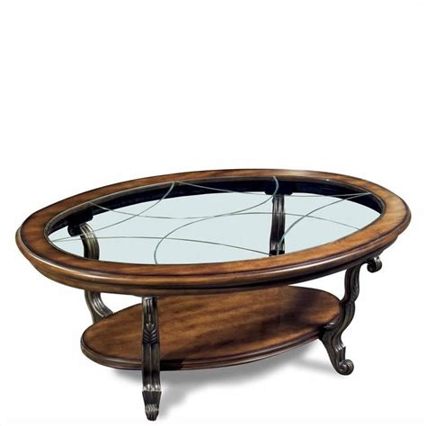 riverside coffee table riverside ambrosia oval coffee table in terra