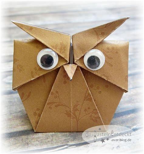 origami kerzenhalter mmm 14 origami eule diy mitmachmittwoch