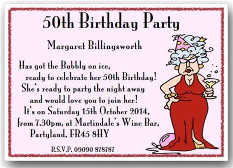 Sle Wedding Invitation Sayings by 50th Birthday Invite Sayings Wedding Invitation Ideas