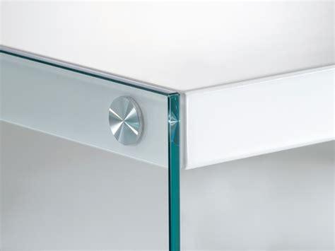 nachttisch 35x35 beistelltisch glas tischplatte 35x35 wei 223 hochglanz