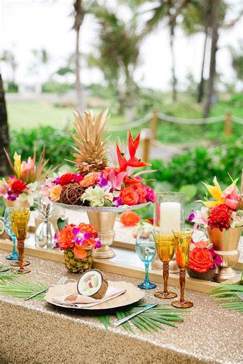 Winter Wonderland Themed Decorating - the most fun tropical wedding theme you ve ever seen weddingsonline