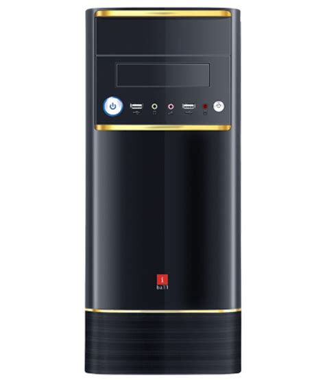 Iball Cpu Cabinet Price by Iball Cabinet Elegance With Smps Best Price In India On