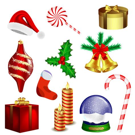 christmas vector goods free vector 4vector