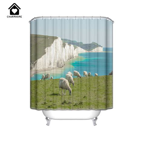sheep shower curtain compare prices on sheep curtains online shopping buy low