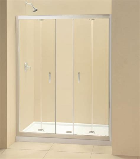 Butterfly Shower Door Butterfly 60 Quot X 72 Quot Dreamline 1 4 Quot Glass Frameless Bi Fold Shower Door Ebay