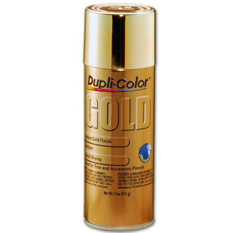 spray paint gold dupli color gs100 gold spray paint